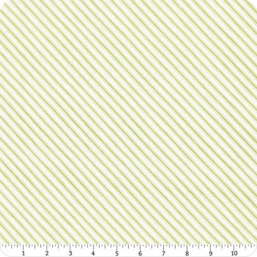 Mistletoe - yellow stripe, diagonal