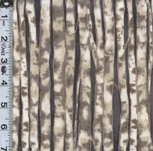 Winter White Solstice - birch trees on grey