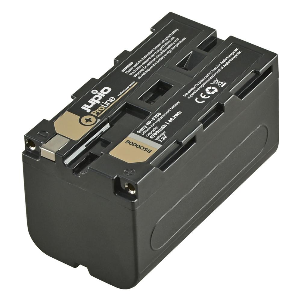 Jupio ProLine NP-F750 6700mAh Camcorder Battery
