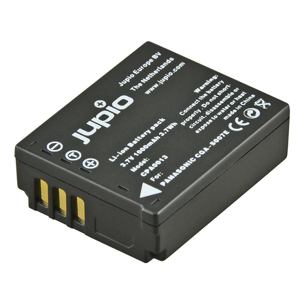 Jupio CGA-S007E / DMW-BCD10 1000mAh Camera Battery