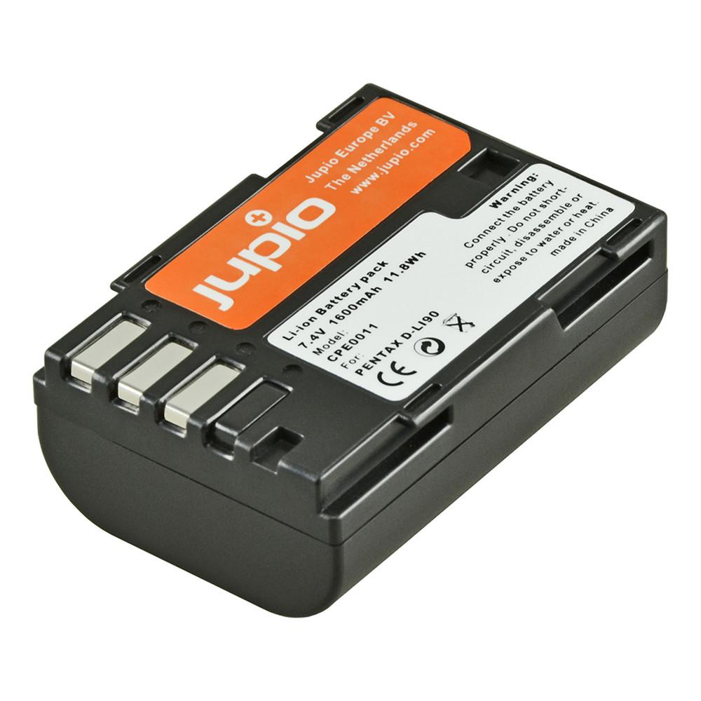 Jupio D-Li90 for Pentax 1600mAh Camera Battery