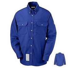 Bulwark® Men's 7 oz. Dress Uniform Shirt HRC2