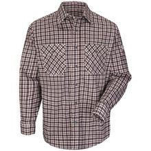 6.5 OZ. Plaid Uniform Shirt