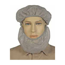 NSA Gray NOMEX Knit Beard Net