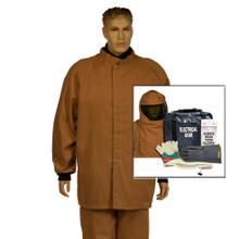 NSA HRCD NOMEX Short Coat and Bib Kit