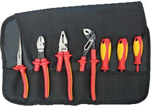 7 PC. Pliers/Screwdriver Insulated Tool Set 1