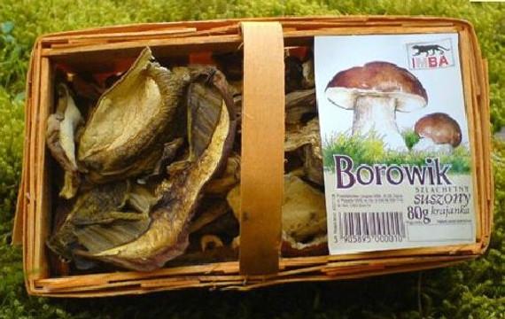 Dried Polish Mushroom