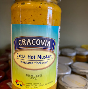 Cracovia Mustard Extra Hot