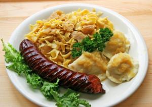 Kielbasa Dinner Platter