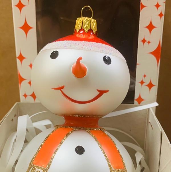 Ornament snowman bałwan