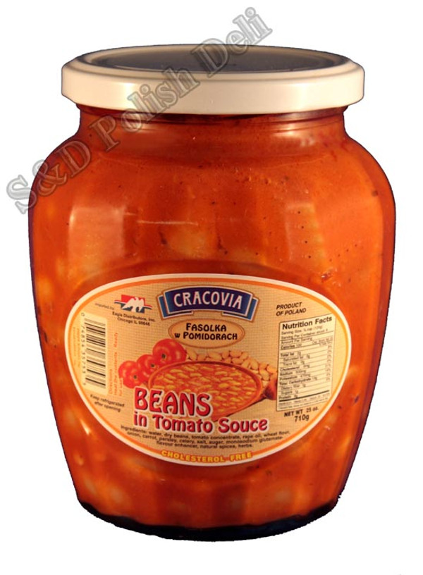 Beans in Tomato Sauce