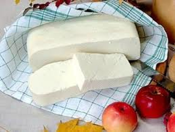 Twarog Cheese in a block