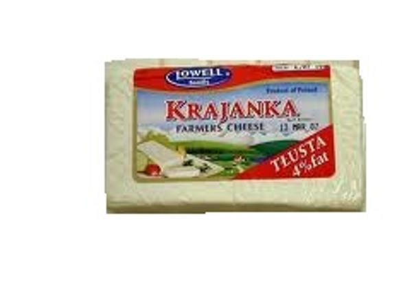 Krajanka Twarog Cheese in a block