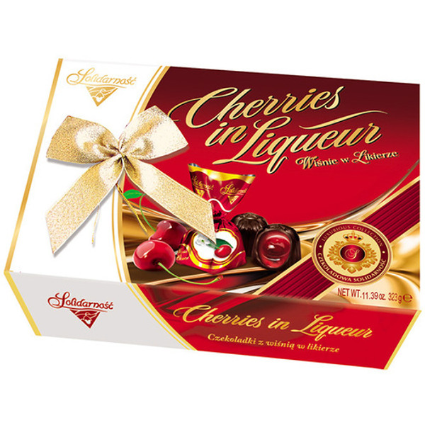 Solidarnosc Cherries in Liquer Gift Box