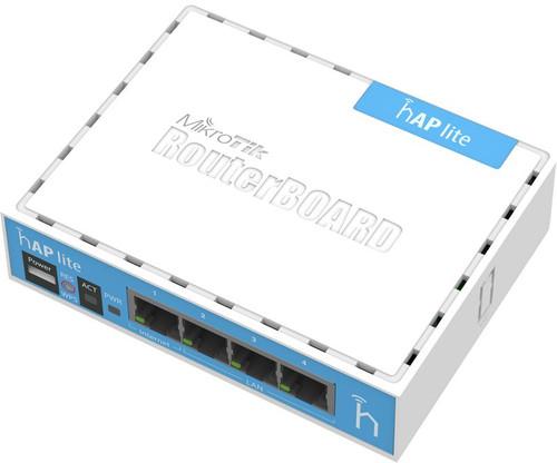 2.4GHz hAP Lite 4xLAN 802.11bgn L4