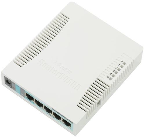2.4GHz 600MHz 5xGbit 802.11bgn LAN