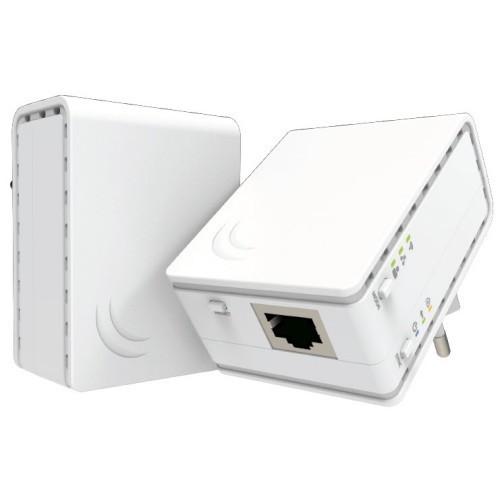PWR-LINE AP, RouterOS L4, European plug (Type C)