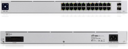 UniFi 24Port Gigabit Switch with 802.3bt PoE, Layer3 Features and SFP+