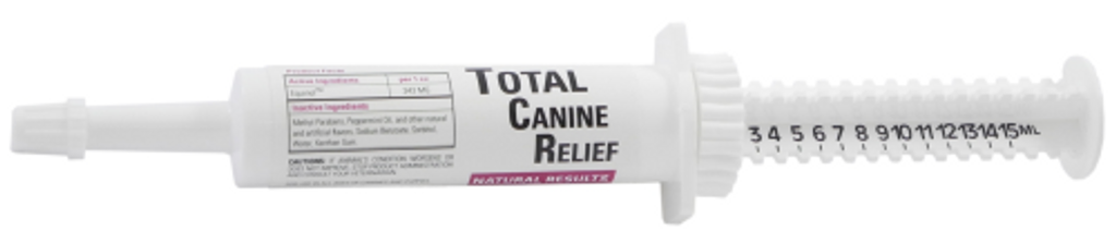 Total Canine Relief - Syringe