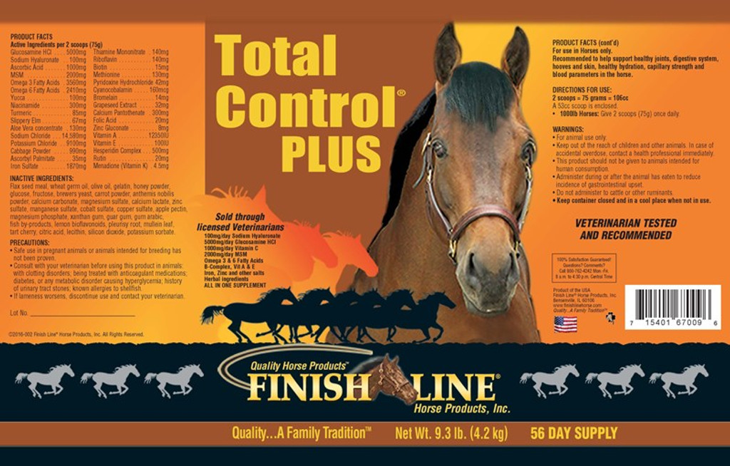 Total Control Plus 7in1 Label