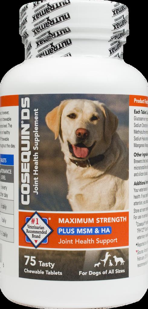 Cosequin Maximum Strength Plus MSM & HA Chewable Tablets 75 ct