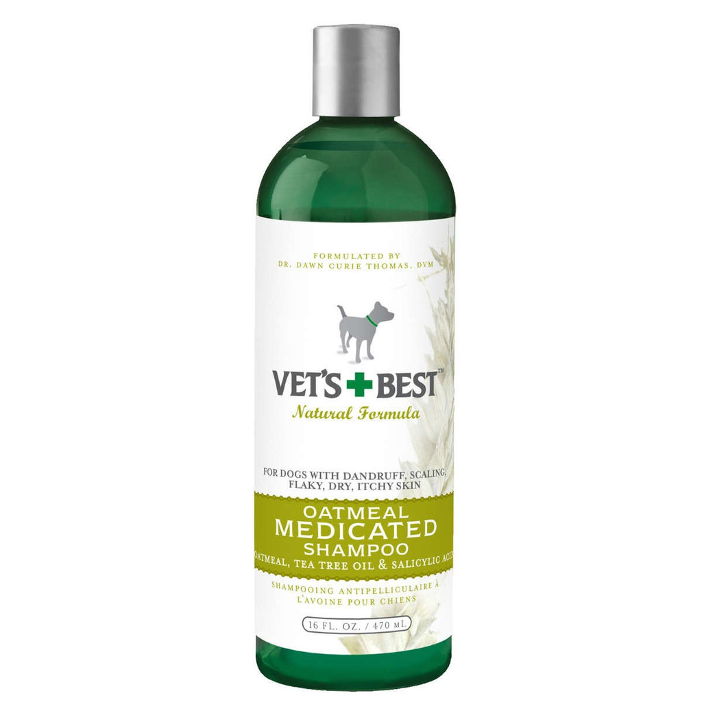 Vet's Best Oatmeal Medicated Dog Shampoo 16oz