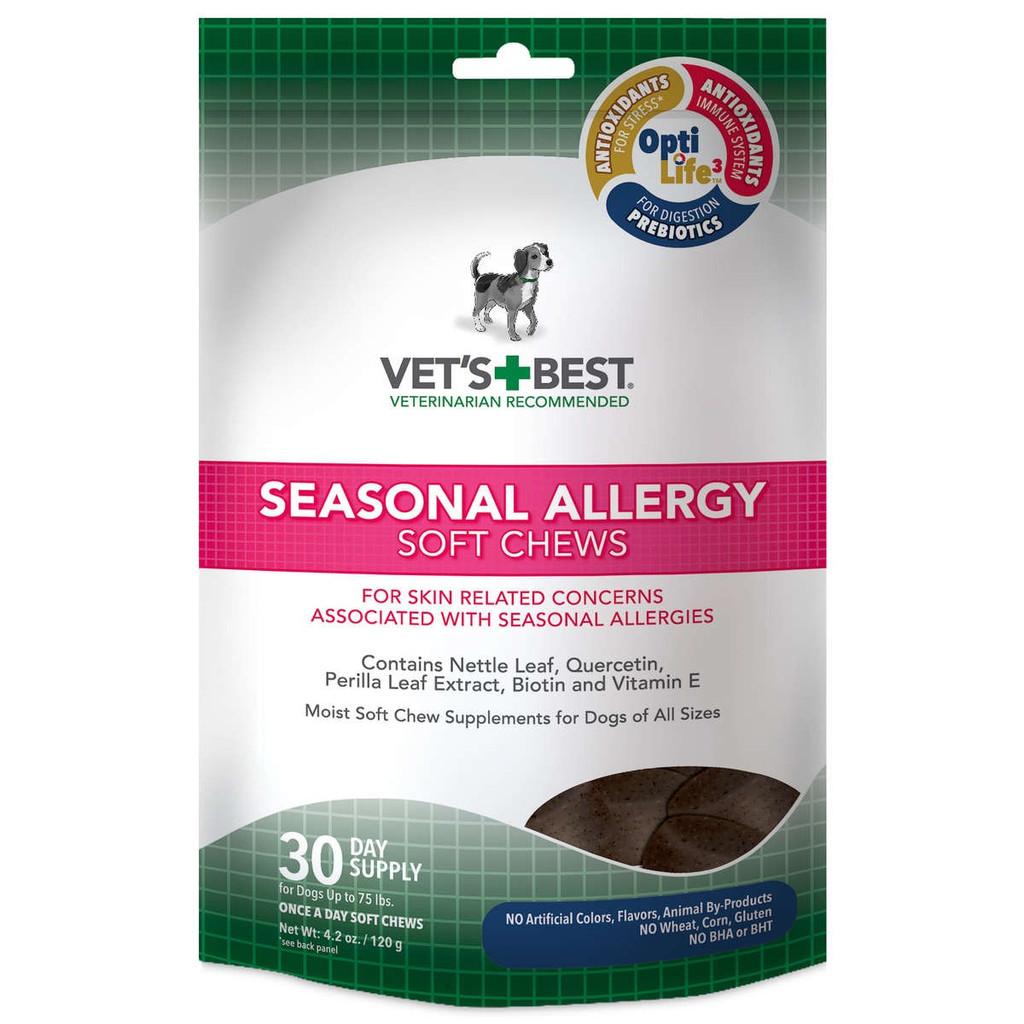 Vet's Best Seasonal Allergy Dog Soft Chews 30 ct