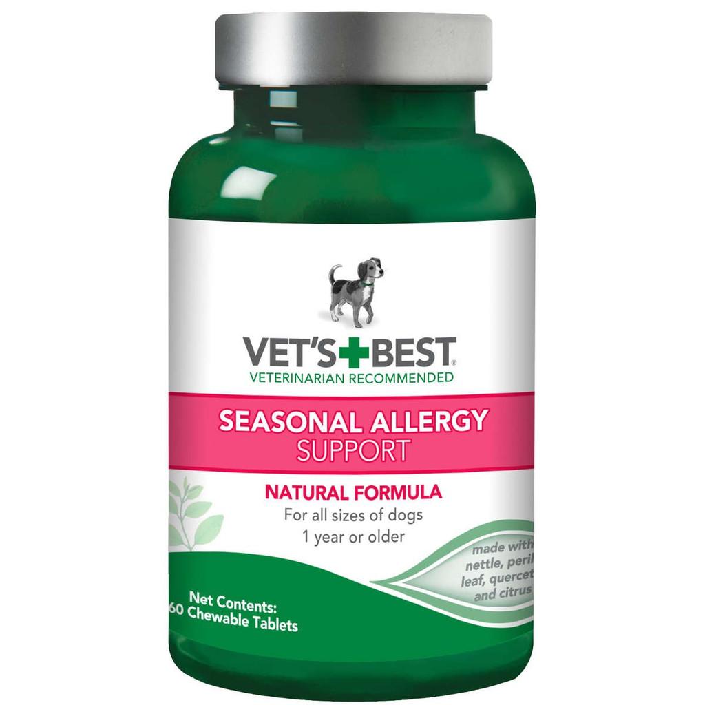 Vet's Best Dog Seasonal Allergy Support Supplement 60 Tablets