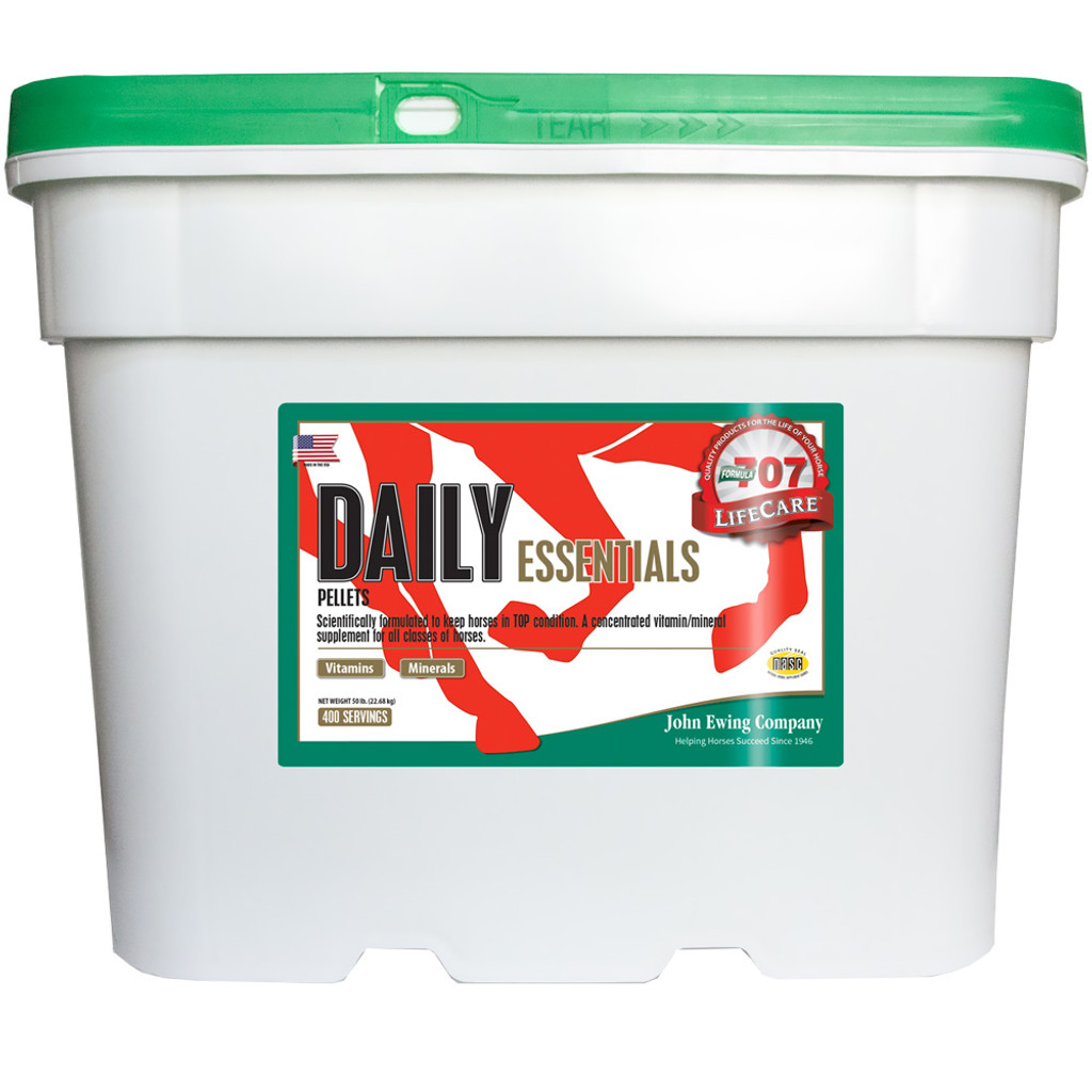 Formula 707 Daily Essentials 50lb bucket