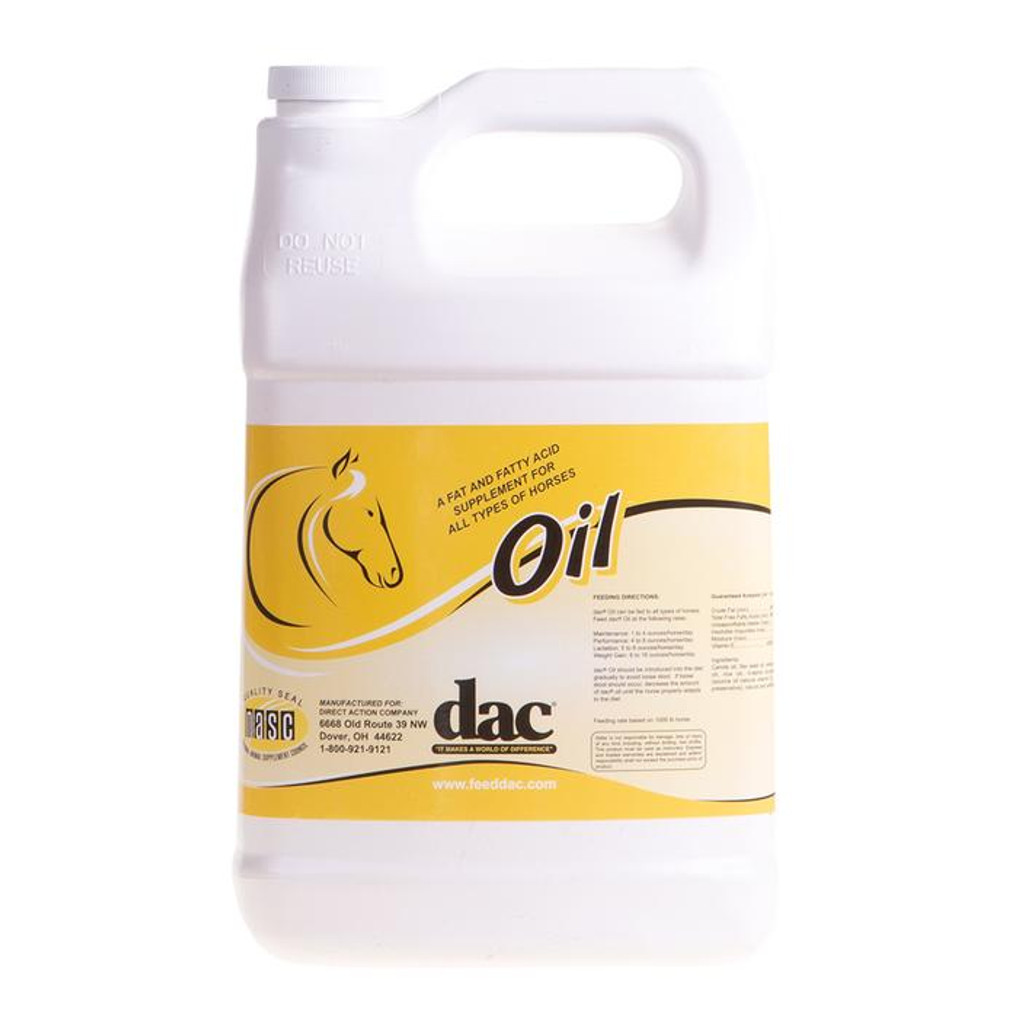 DAC Oil supplement for horses