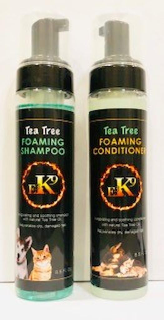 Foaming Tea Tree Shampoo & Conditioner Set