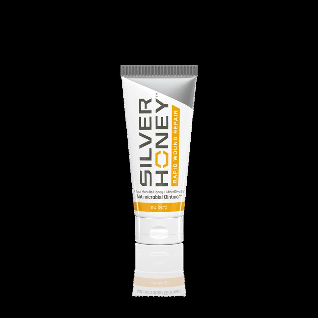 Silver Honey Rapid Wound Repair 2 oz tube