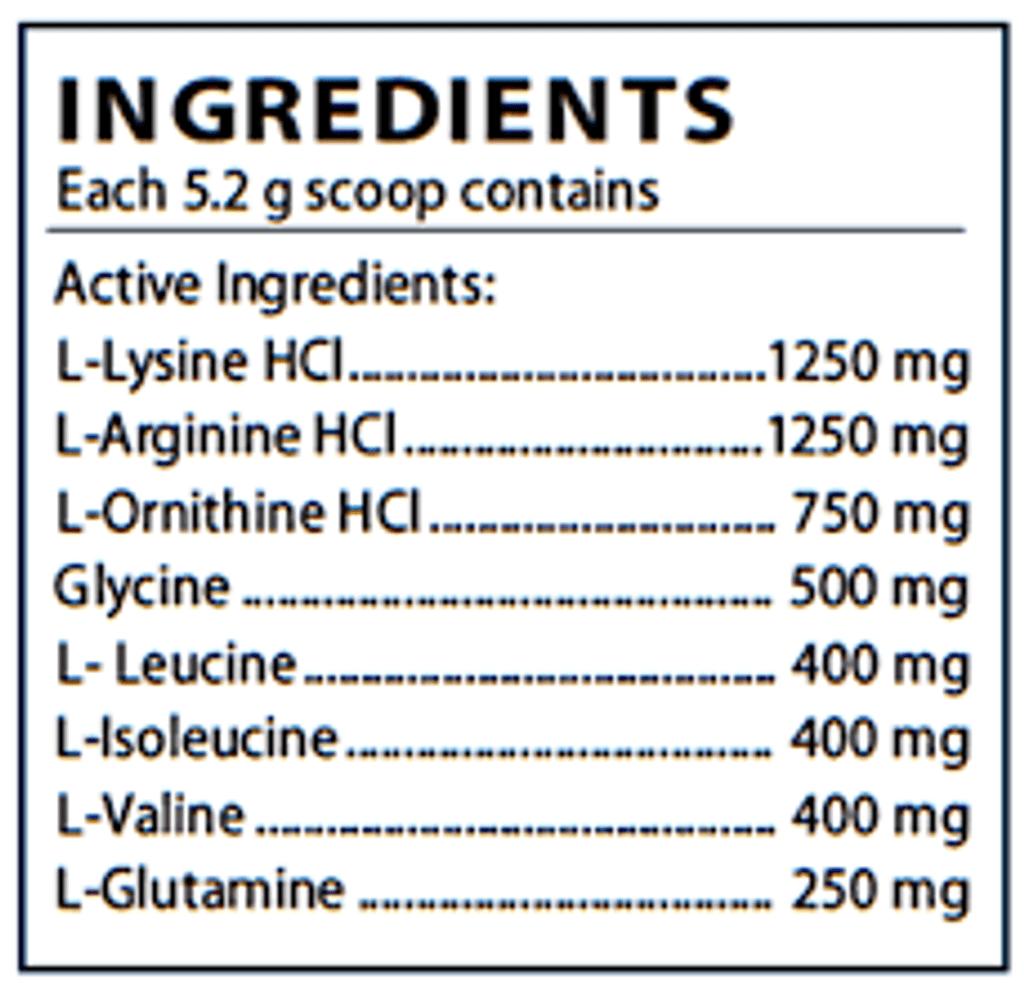 Somapet ingredient label