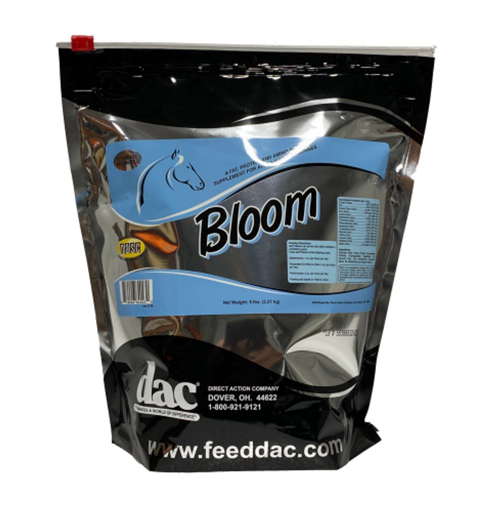 Bloom Weight Gain 5 lb resealable bag