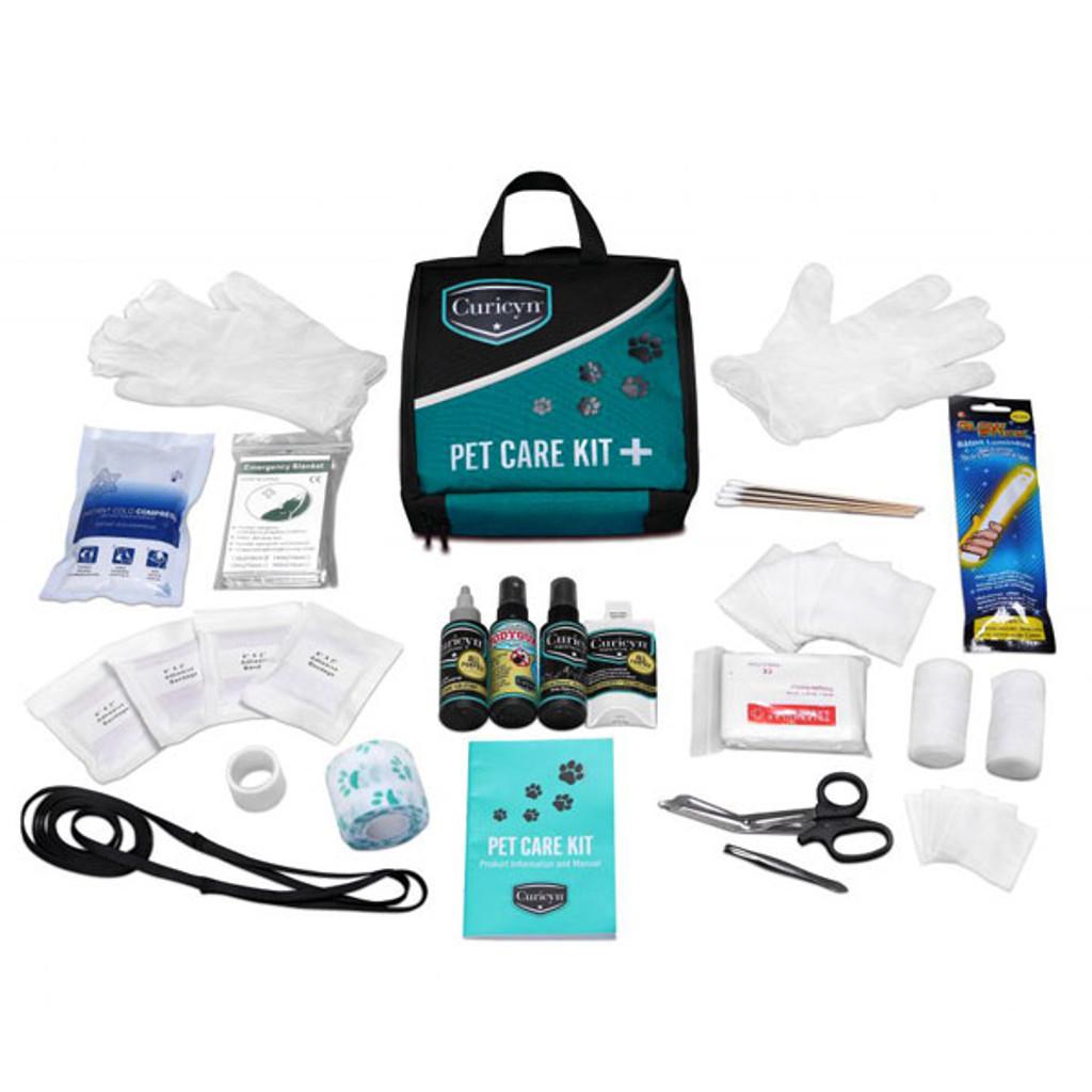 35 piece pet care kit