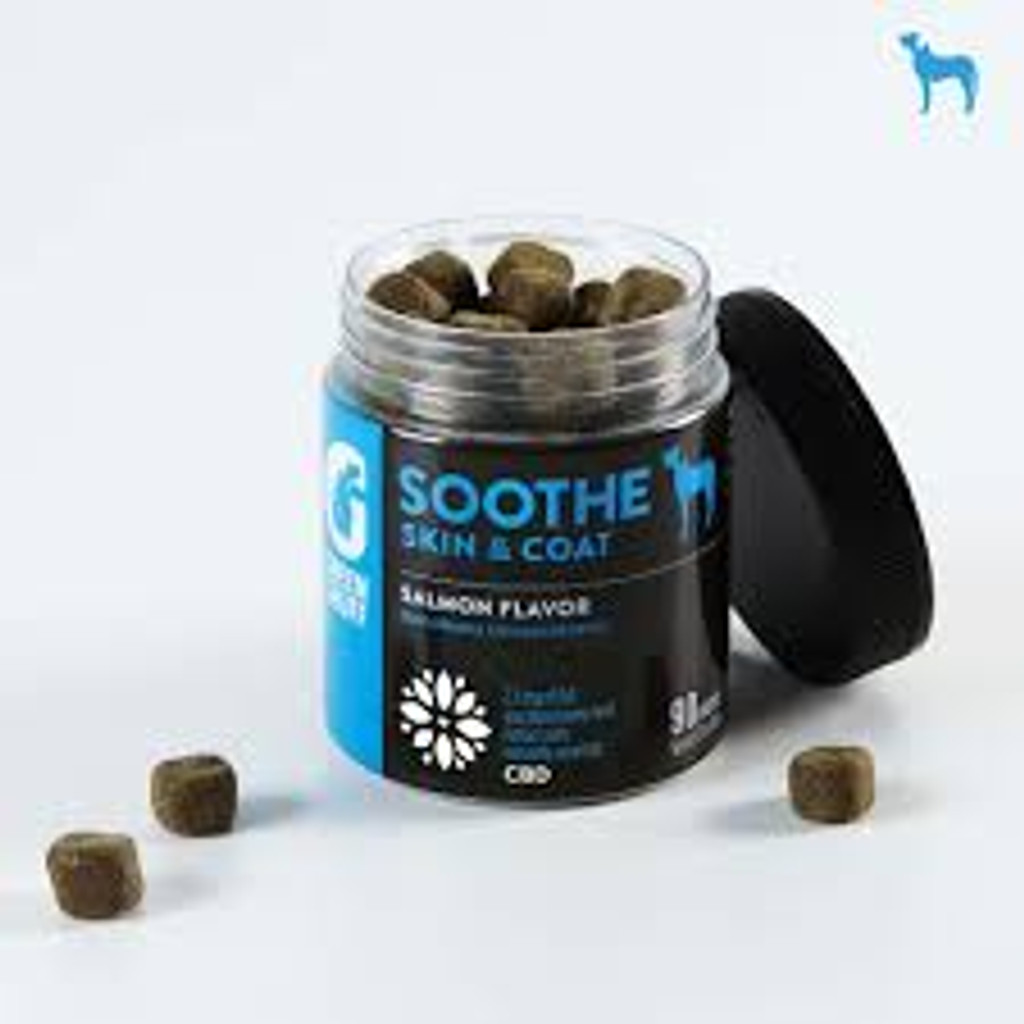 Soothe Skin and Coat Salmon Flavored Dog Supplement