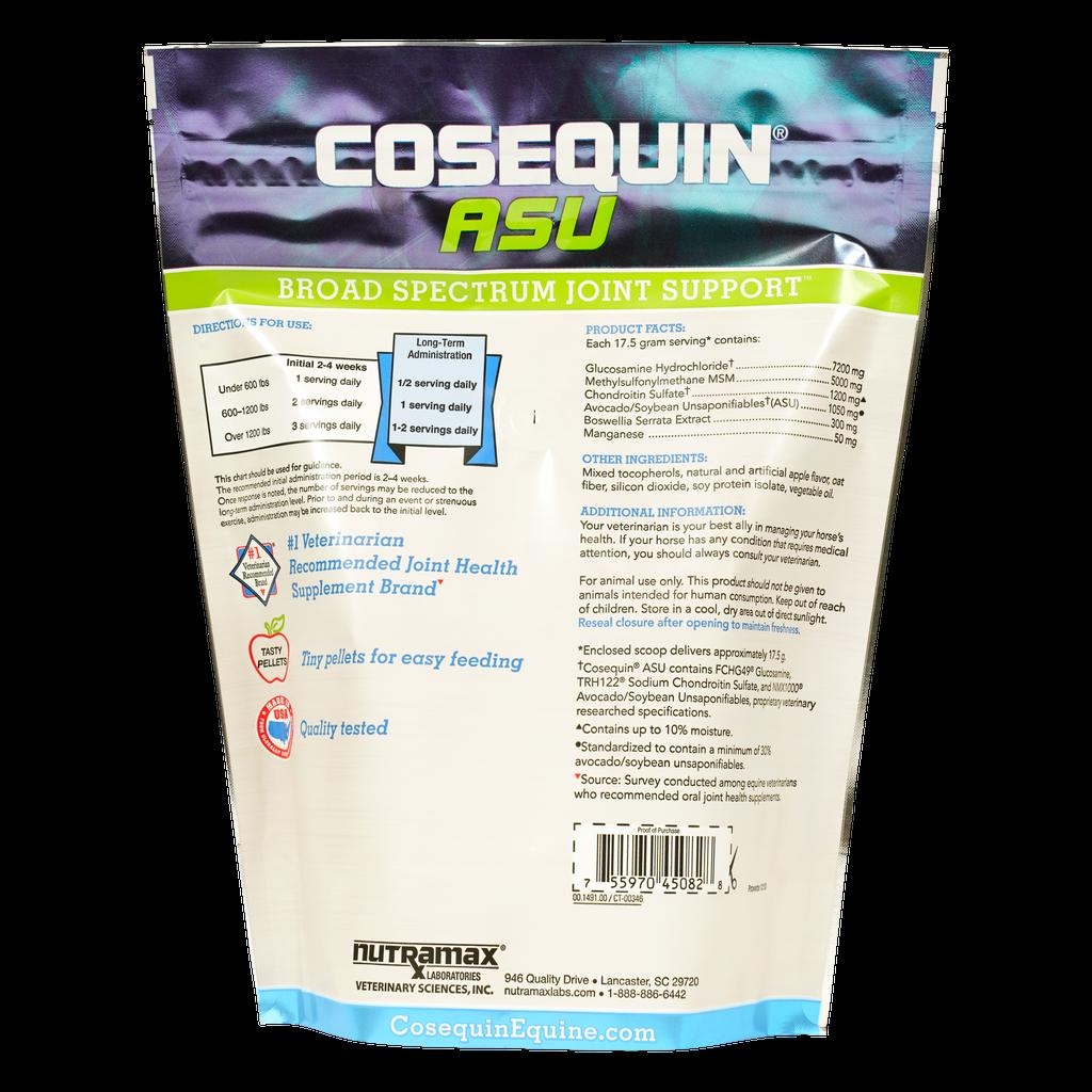 Cosequin ASU Pellets product label information