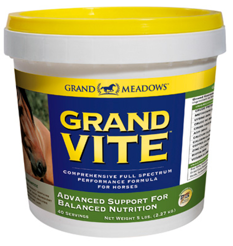 Grand Meadows Grand Vite Horse Supplement