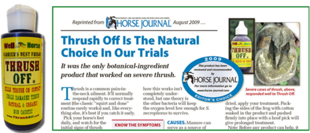Rated #1 by Horse Journal