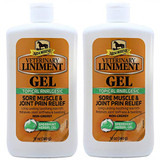 Absorbine Veterinary Liniment Gel 12 oz (2-pack)