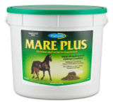Rich in vitamins A, D-3 and E, as well as calcium, phosphorus and iodine. Helps build and condition mares to meet the demands of pregnancy. Keeps mares in peak condition during gestation, foaling and lactation. Start feeding Mare Plus to broodmares 90 days before conception and keep feeding it year round.