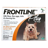 Frontline Flea Control Plus for Dogs And Puppies 11-22 lbs