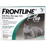 Frontline Flea Control Plus for Cats And Kittens 3 Month Supply