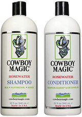 Cowboy Magic Rosewater Shampoo & Conditioner Set