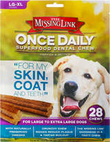 nce Daily Dental Chew for LG- XL dogs