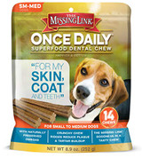 Missing Link Once Daily Dental Chew 14ct