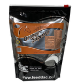 Orange Superior 5 lbs Resealable bag