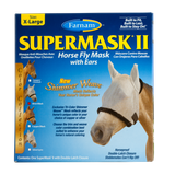 Farnam SuperMask II Fly Control Mask w/ ears (size X-Large) New Shimmer Weave