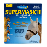 Farnam SuperMask II Fly Control Mask with Ears (Horse) New Shimmer Weave