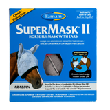 SuperMask II Fly Control Mask with Ears (Arabian)